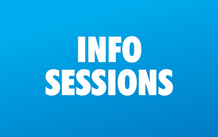 Upcoming Information Session (Winter 2018/19)
